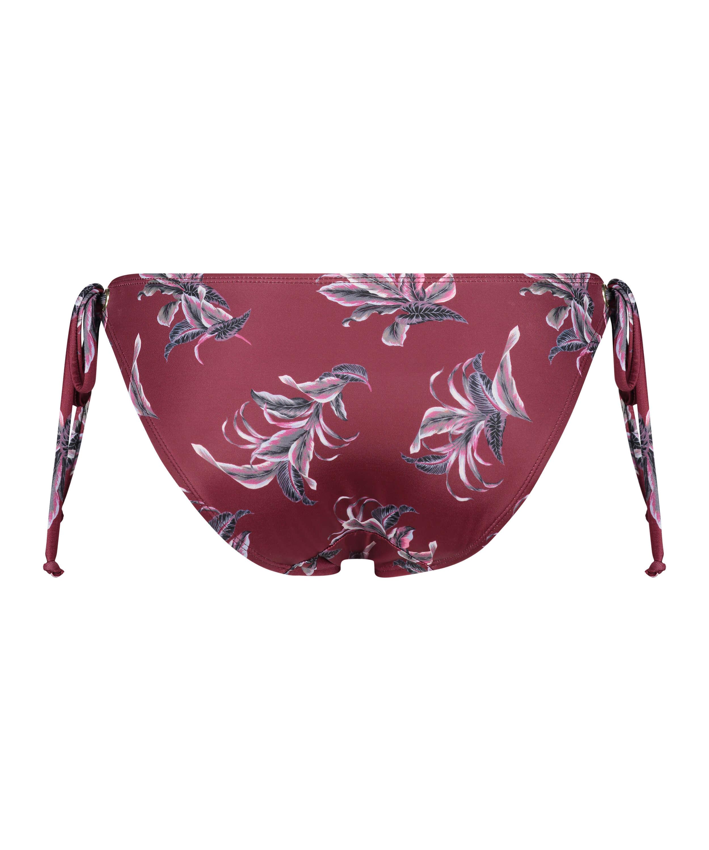 Tropic Glam Rio bikini bottoms, Red, main