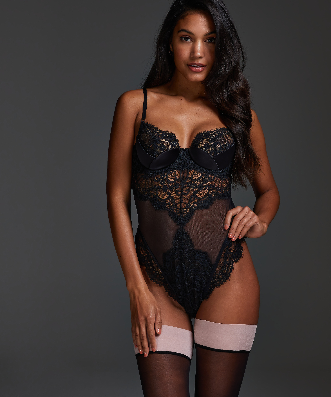 Amelia Body, Black, main