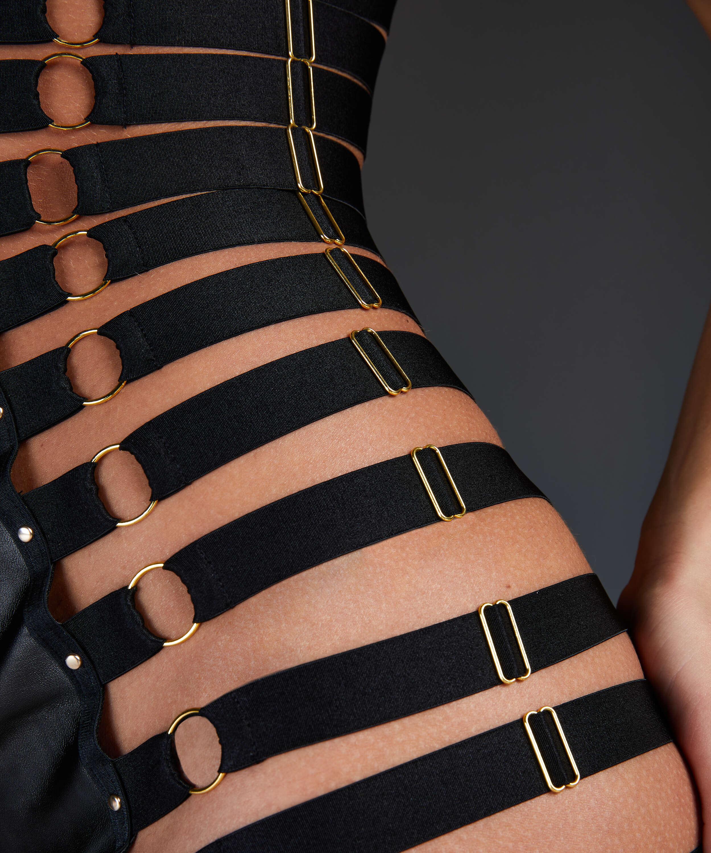 Anthena Slip Dress, Black, main