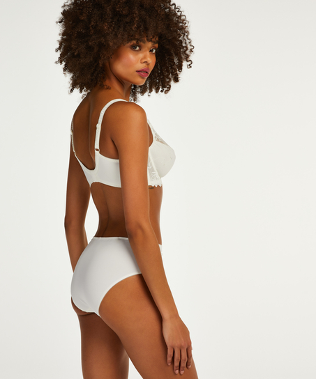 Diva high knickers, White