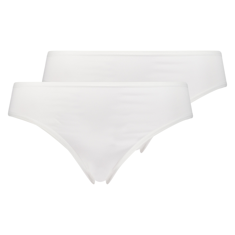 2 Cotton Briefs Kim, White, main