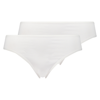 2 Cotton Briefs Kim, White
