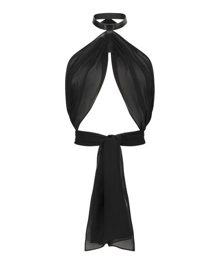 Private Wrap Top, Black