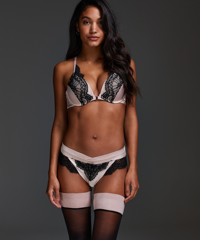 Amelia Brazilian Shorts, Pink, main