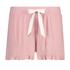 Brushed Rib Lace shorts, Pink