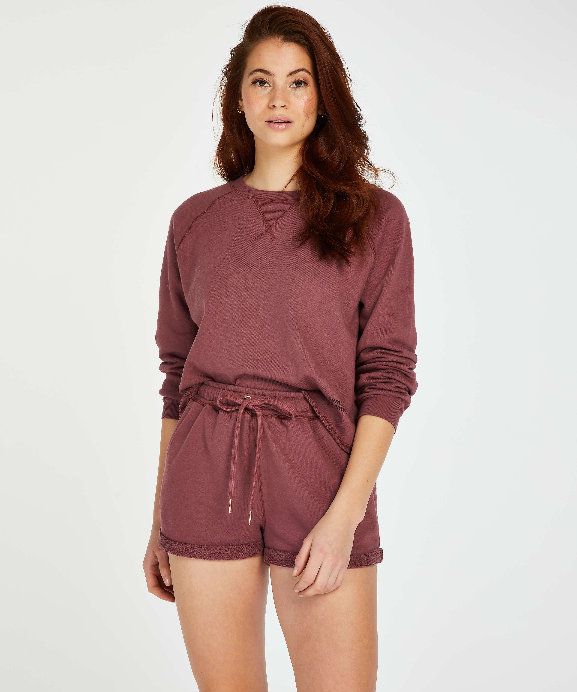 Sweat French Shorts, Pink, main