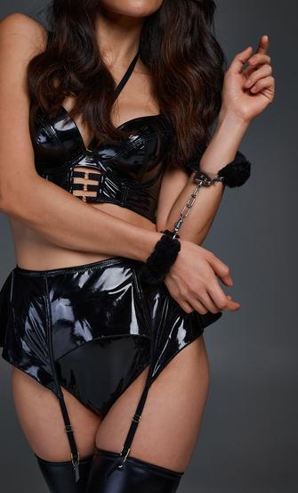 Private Handcuffs, Black
