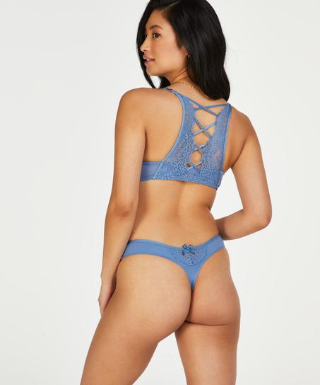 Cardi thong, Blue