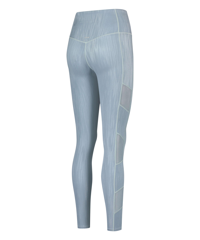 HKMX High waisted sport legging Mojave, Blue, main