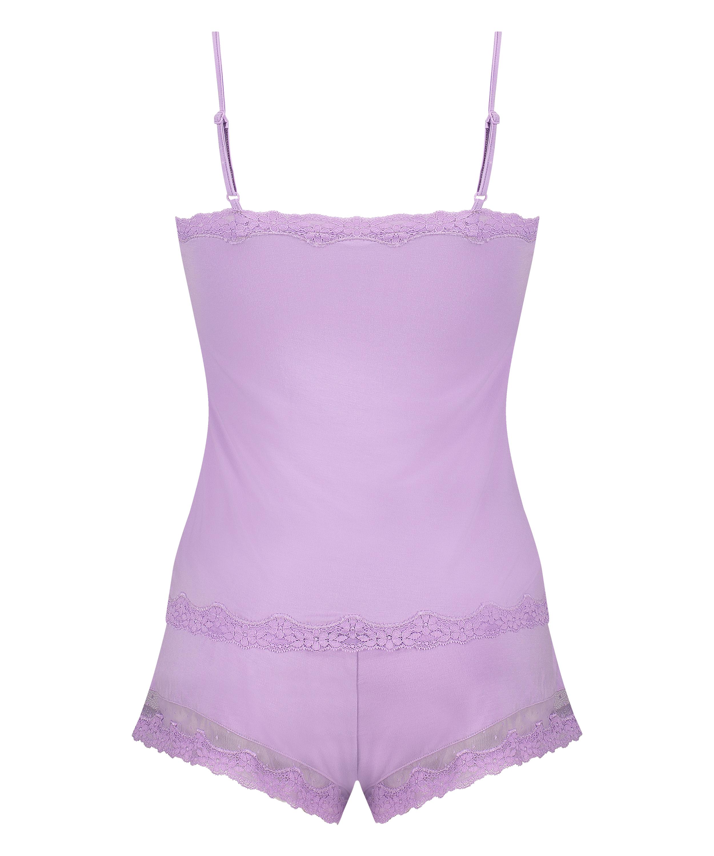 Pajama Set, Purple, main