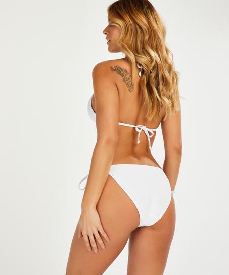 Remi Stitch Rio bikini bottom , White