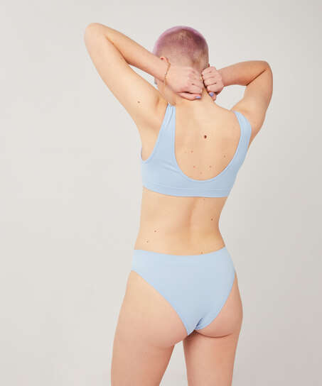 Bae Bralette, Blue
