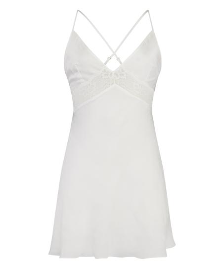 Nina Slip Dress, White