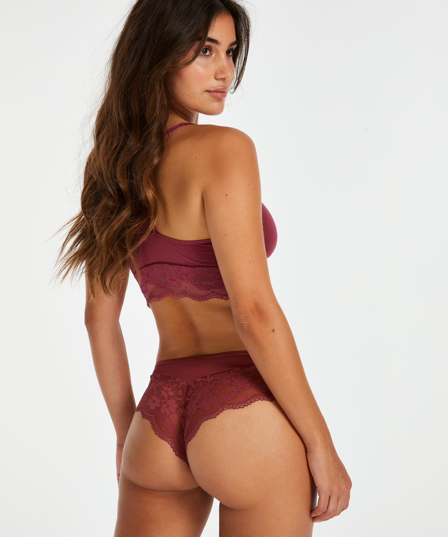 Abigail Brazilian Shorts, Red, main
