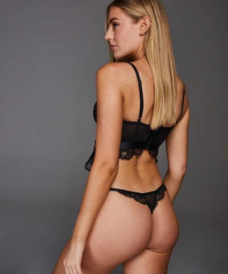 Heather Thong, Black