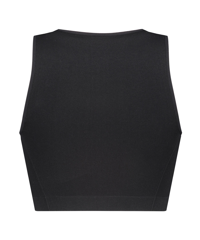 Bae Crop Top, Black, main
