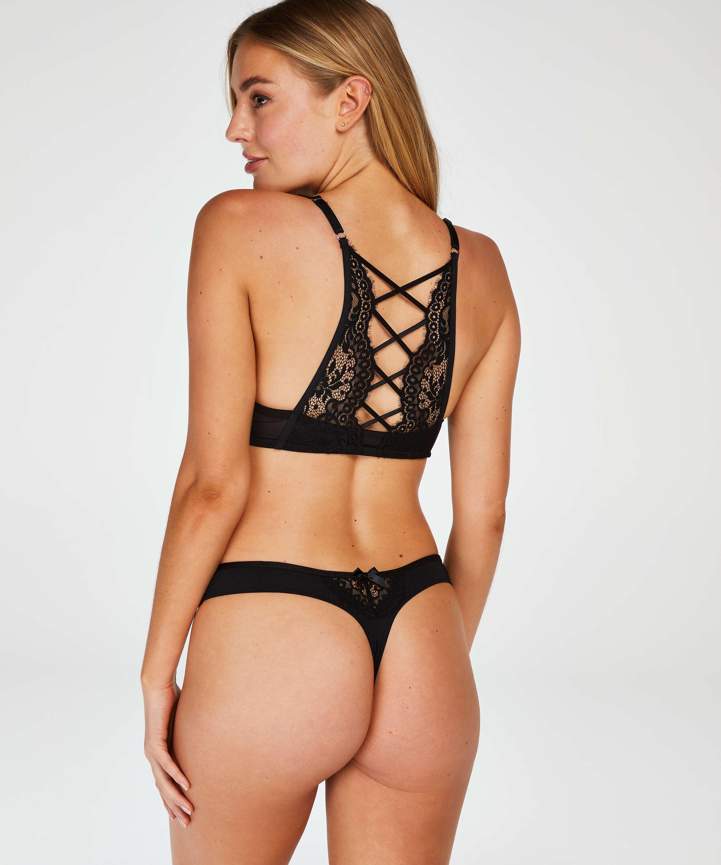 Cardi thong, Black, main