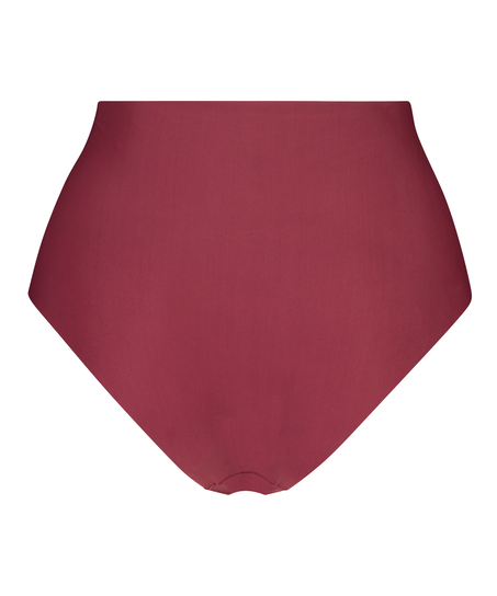 Invisible High Waist Brazilian, Red