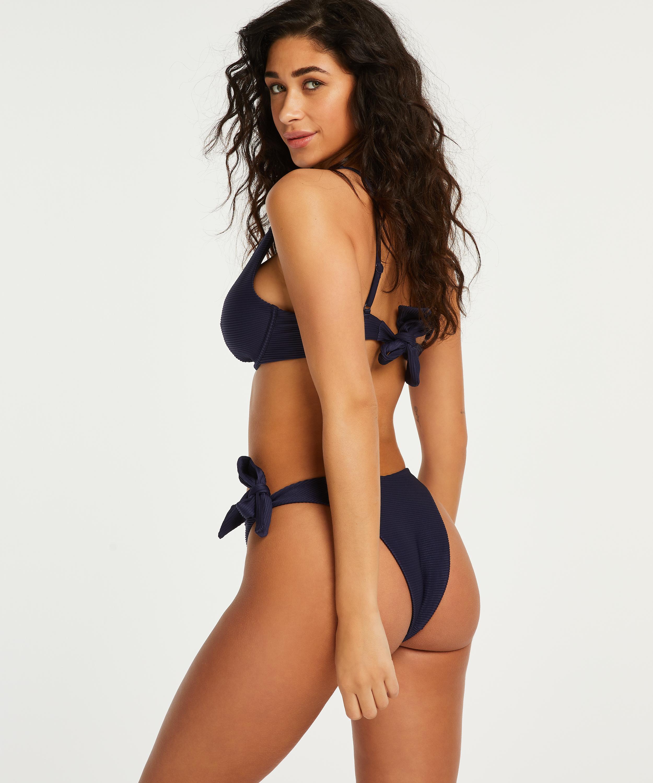 Non-padded underwired bikini top Harper, Blue, main