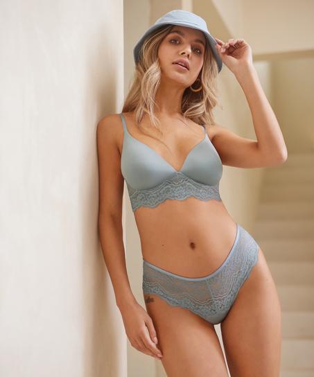Chloe Thong Boxers, Grey