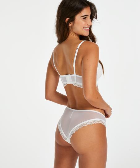 Yvonne Brazilian, White