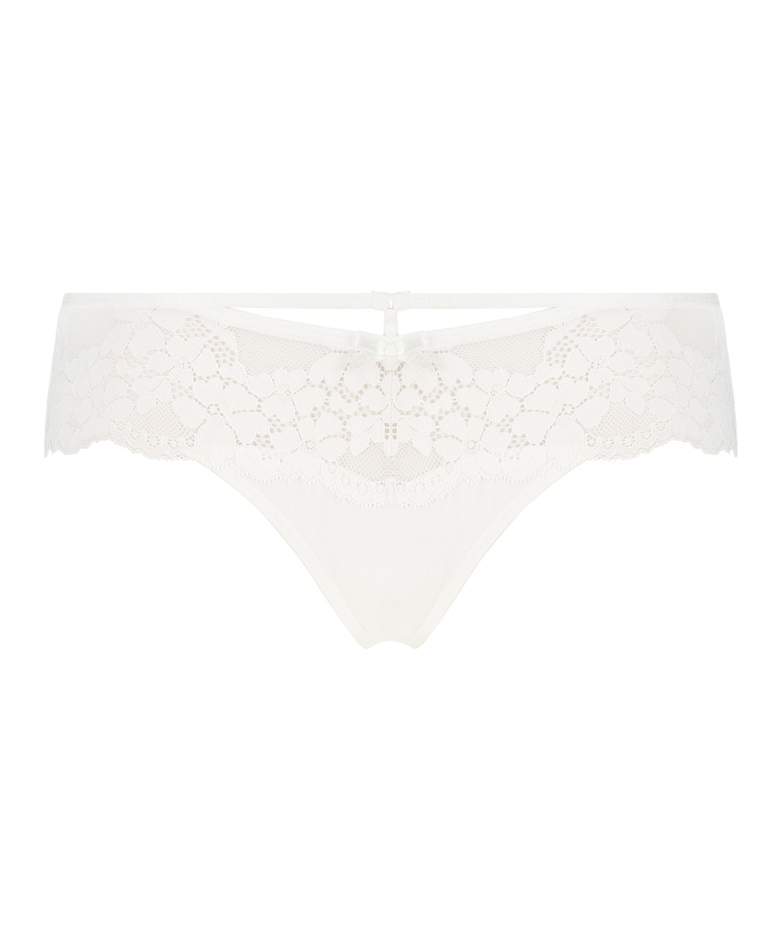 Nellie Thong Boxers, White, main