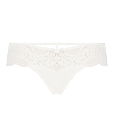 Nellie Thong Boxers, White