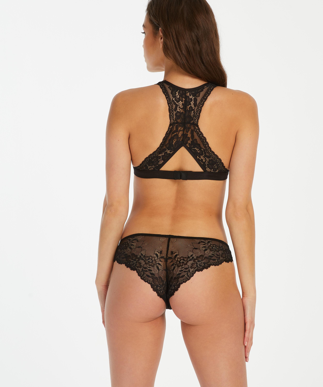 Crystal Lace Brazilian, Black, main