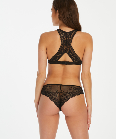 Crystal Lace Brazilian, Black