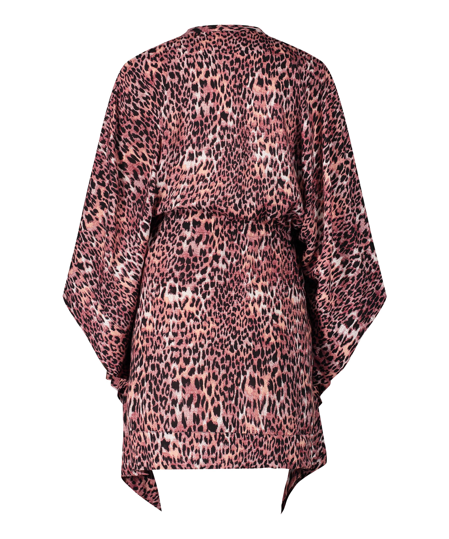 Leopard Rose Tunic, Brown, main
