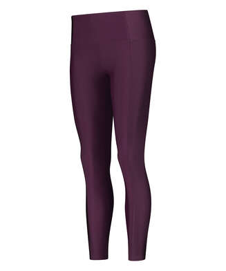 HKMX High waisted sports leggings Shine On, Purple