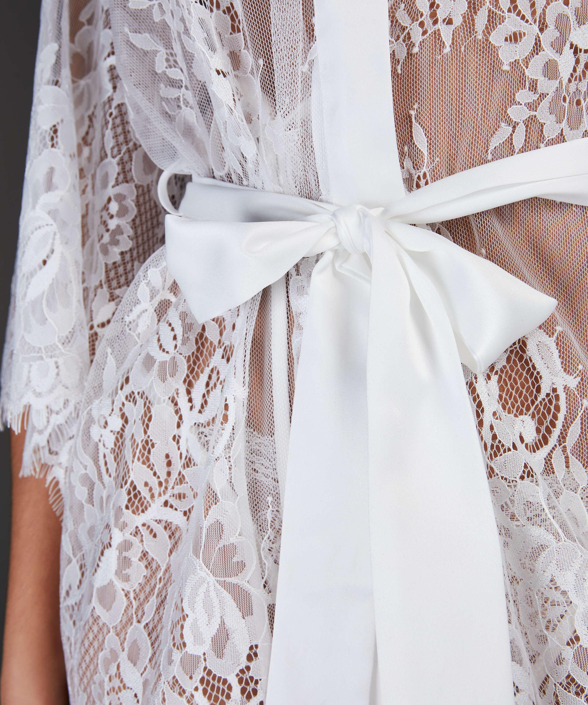 Isabelle Lace Kimono, White, main