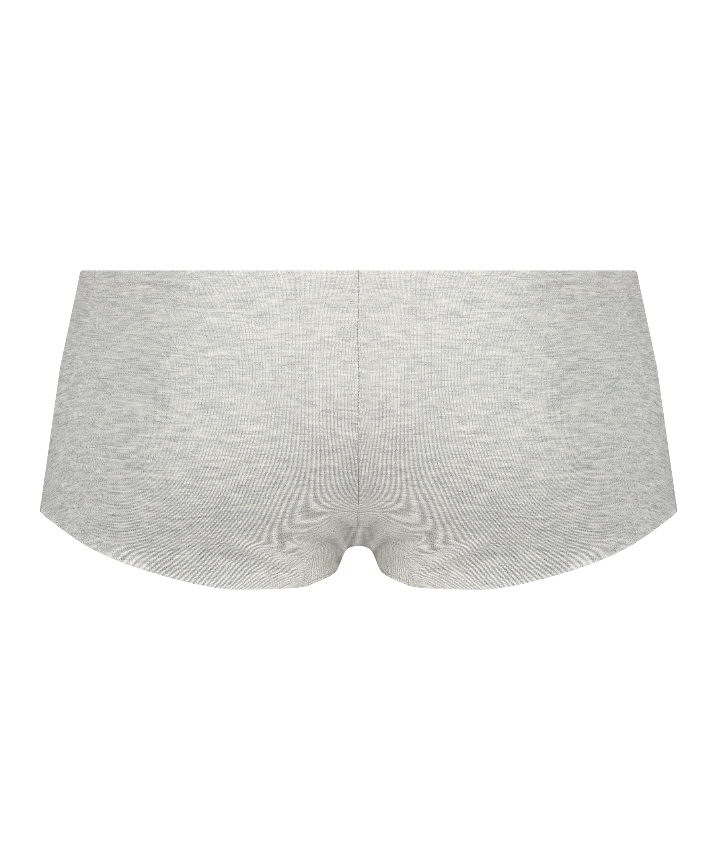 Invisible cotton boxers, Grey, main