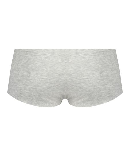 Invisible cotton boxers, Grey