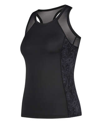 HKMX Sport slim fit tank top, Black