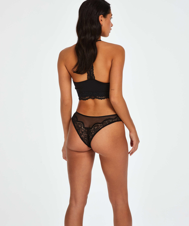 Louisa high leg Brazilian, Black, main