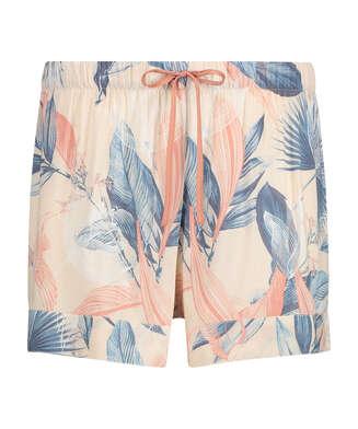 Pyjama shorts, Beige