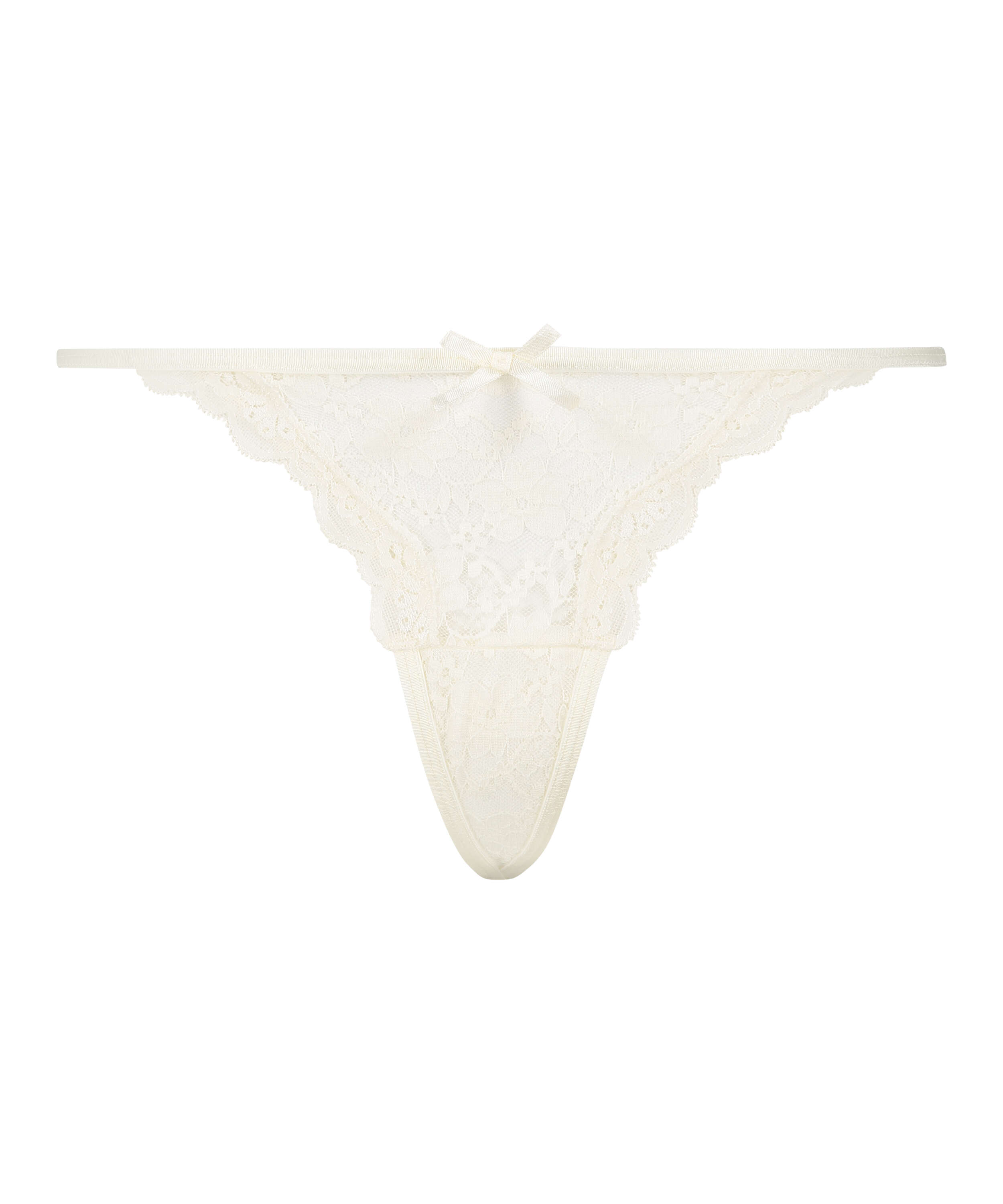 Mini Tanga thong, White, main