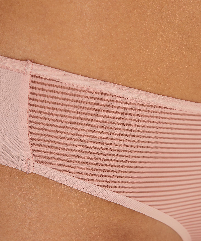 Invisible Brazilian Stripe mesh, Pink, main