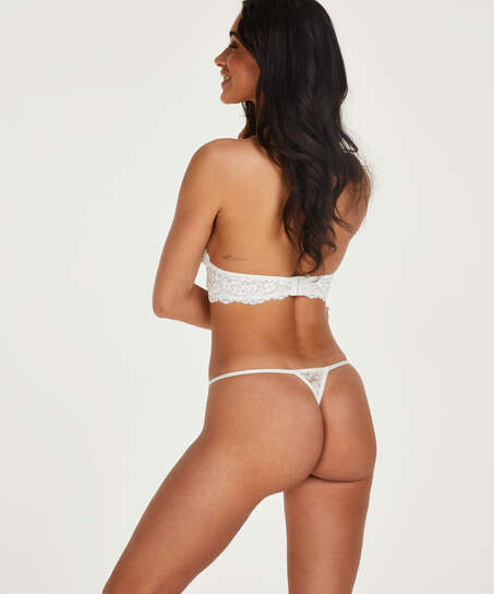 Mini Tanga thong, White
