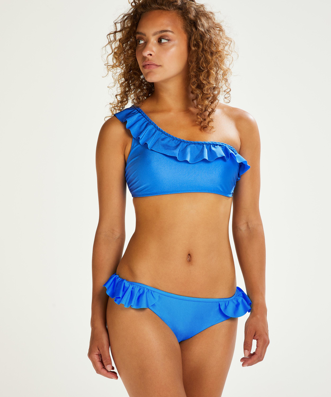 Suze Crop Bikini Top, Blue, main