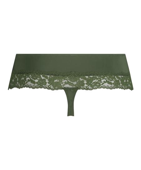 Paris boxer thong, Green