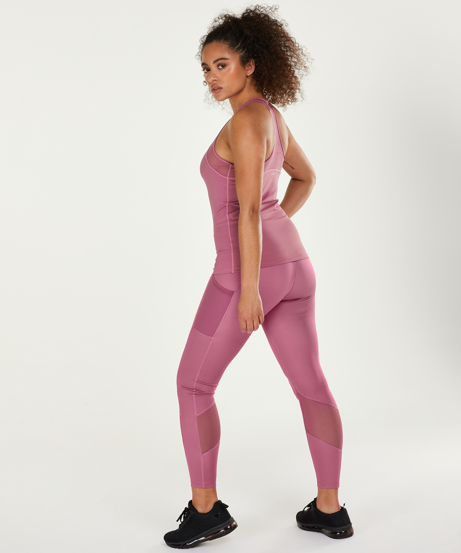 HKMX Oh My Squat High Waisted Leggings, Purple, main