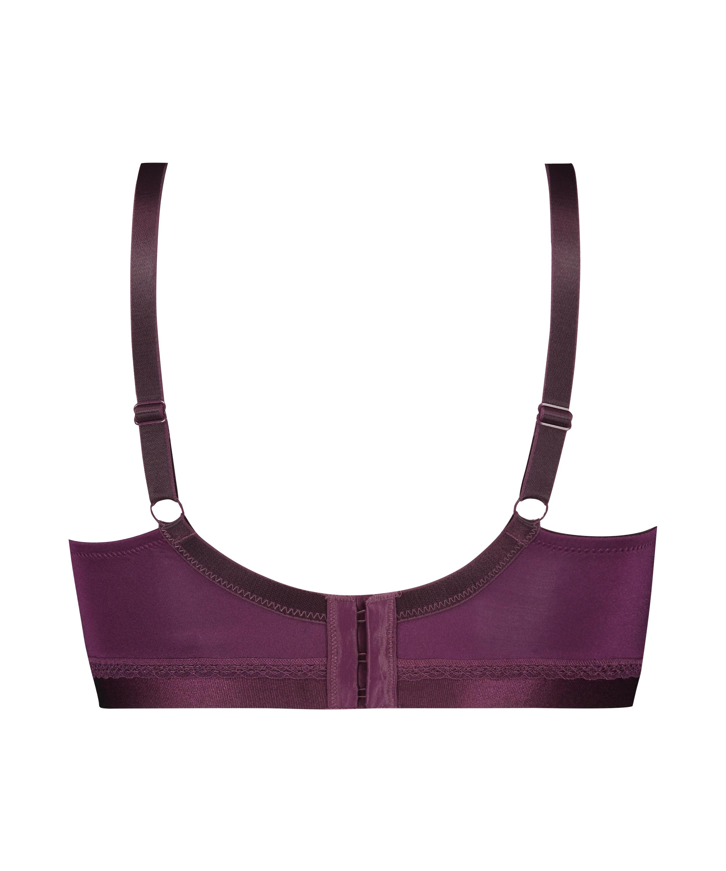 Erica prosthetic underwireless bra, Purple, main