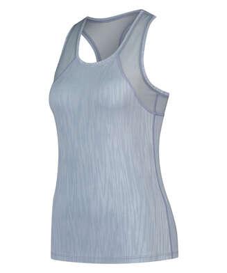 HKMX Sport slim fit tank top, Blue