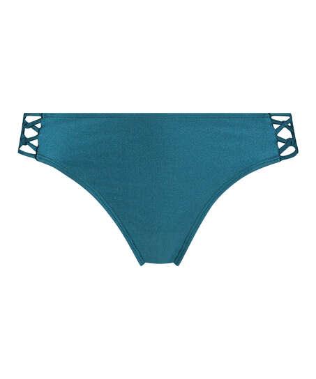 Macrame Rio bikini bottom Brokopondo I AM Danielle, Grey