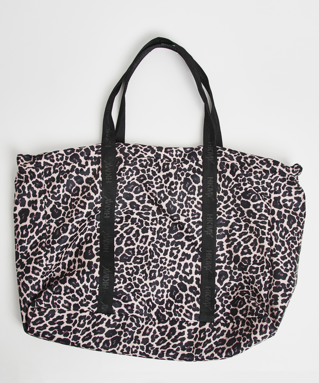 HKMX Leopard Sports bag, Black, main