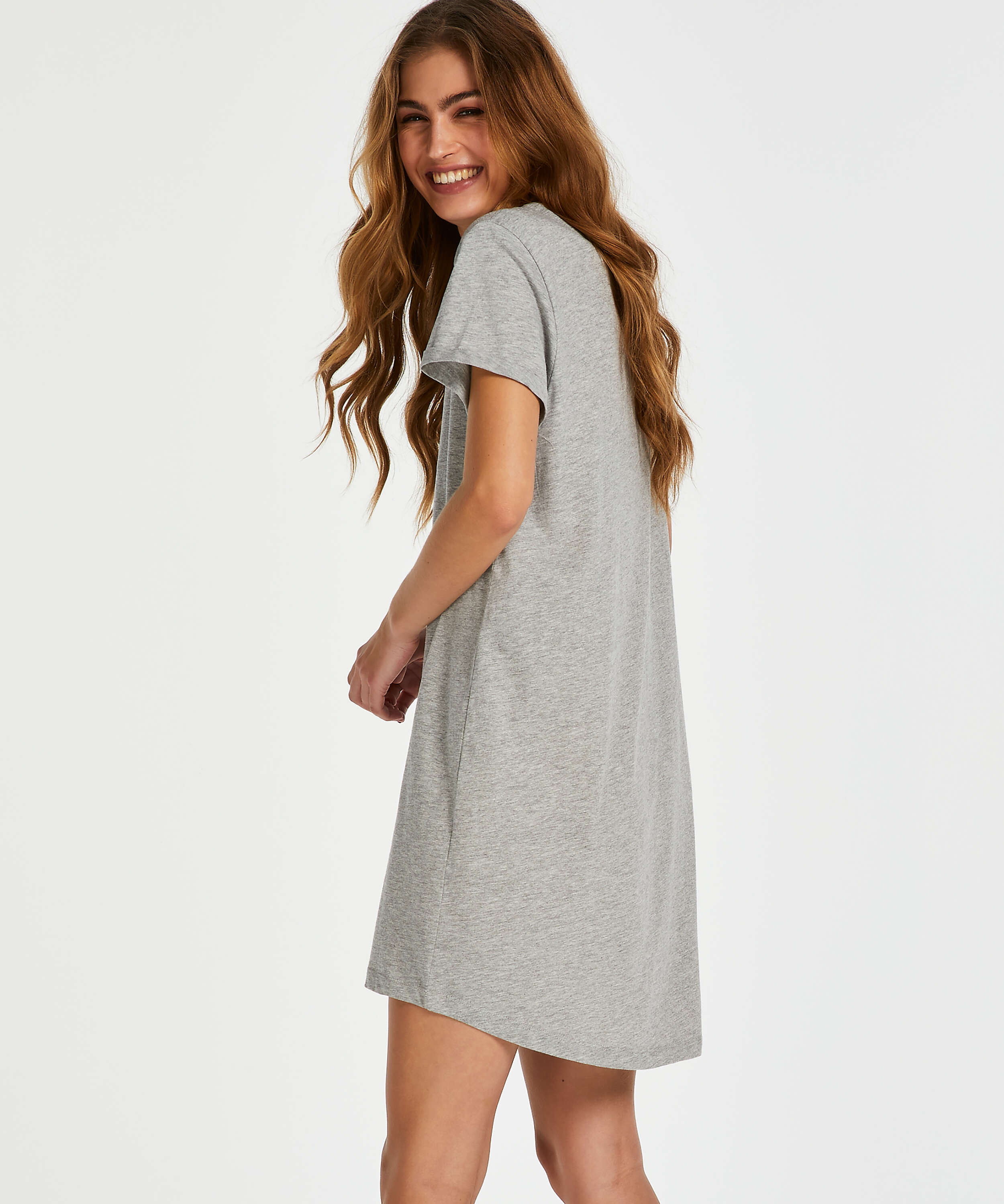 Siesta nightshirt, Grey, main