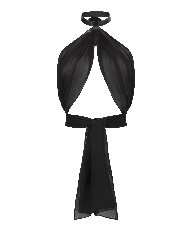 Private Wrap Top, Black, main