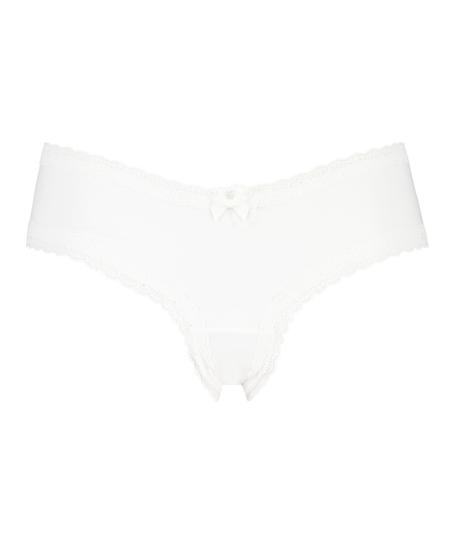 V-shaped London Brazilian, White
